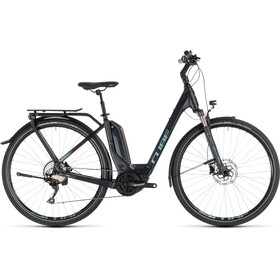Cube Touring Hybrid Pro 500 E-Trekking Bike Easy Entry blue